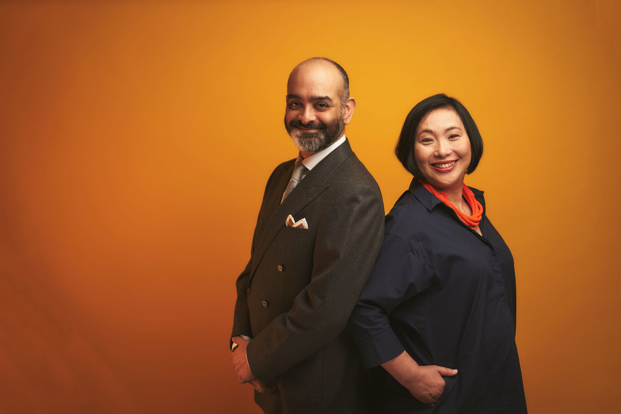 Claire Wong and Huzir Sulaiman